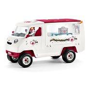 Schleich Mobile Tierklinik mit Stute und Krankenschwester - Spielset