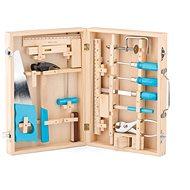 Woody Metallwerkzeuge im Holzkoffer - Kinderwerkzeug