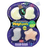 PlayFoam Boule 4pack - leuchtend - Knetmasse