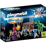 Playmobil 9006 Alien-Krieger mit T-Rex-Falle - Baukasten