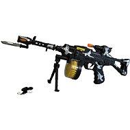 Maschinengewehr auf Batterie - Spielzeug