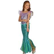 Kostüm Meerjungfrau - grün, Gr. L - Kinderkostüm