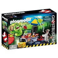 Playmobil 9222 Ghostbusters Slimer mit Hot Dog Stand - Baukasten