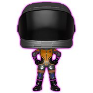 Funko Pop-Spiele: Fortnight S2 - Dark Vanguard (Glow) - Figur