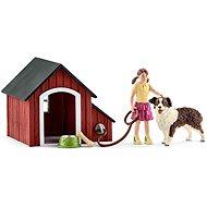 Figur Schleich 42376 Hundehütte mit Zubehör