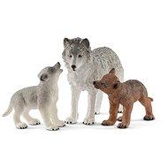 Schleich 42472 Wolf und junger Wolf - Figur