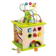Hape Motorischer Würfel mit einem Labyrinth - Didaktisches Spielzeug