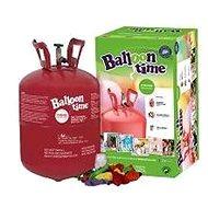 Helium Balloon Time 30 Kinder-Set - Aufkleber Fröhliche Gesichter, Luftballons und Farbband