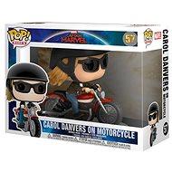 Funko Pop - Captain Marvel - Carol Danvers auf dem Motorrad - Figur