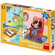 Puzzle Dino Meine Märchen 3x55 Teile - Puzzle