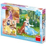 Dino Princess: Freier Nachmittag 3x55 Teile - Puzzle