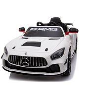 Mercedes-Benz GT4, weiß - Elektroauto für Kinder