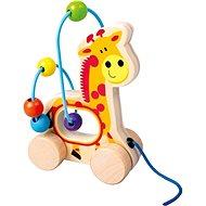 Giraffe zum Nachziehen, Holzlabyrinth - Nachziehspielzeug