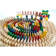 EkoToys Buntes Domino 830 Stück - Domino