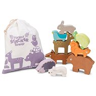 Le Toy Van Petilou Klappturm Tiere - Holzspielzeug