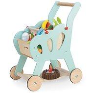 Le Toy Van Einkaufswagen mit Zubehör - Holzspielzeug
