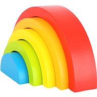 Little Foot Regenbogenwürfel - Holzspielzeug
