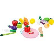 Small Foot Magnetset Obst und Gemüse - Holzspielzeug
