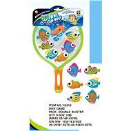Tauchende Fische mit Kescher - Spielzeug für die Kleinsten