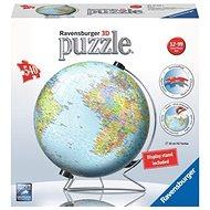 Ravensburger 124367 3D Puzzle Globus (Englisch) - 3D Puzzle