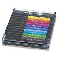 Faber-Castell Pitt Artist Pen Brush, 12 Farben - Filzstifte