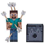 Minecraft Steve mit Pfeilen - Figur