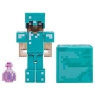 Minecraft Steve mit Elixier der Unsichtbarkeit - Figur