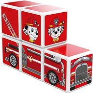 Magnetischer Baukasten Magicube Paw Patrol Feuerwehr