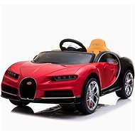 Bugatti Chiron - rot - Elektroauto für Kinder