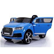 Audi Q7 - blau lackiert - Elektroauto für Kinder