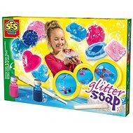 SES Kreativ-Set - Glitzer-Seifen gießen - DIY für Kinder