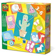 SES Kreativ-Set -Tupfen mit Aqualine-Farbe - Malen für Kinder