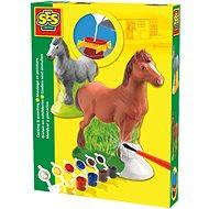 SES Kreativ-Set - Gießen und Anmalen - Pferd - DIY für Kinder