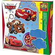SES Zažehlovací korálky Disney Cars, přívěsky na klíče - Kreativset