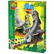 SES Kreativ-Set - Gießen und Anmalen - Dinosaurier - DIY für Kinder