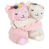 Lamas im Paar (2 Stück) - Warmes Plüschtier