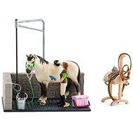 Schleich 42104 Spülraum für Pferde mit Zubehör - Spielset