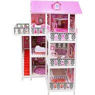 Puppenhaus mit drei Stockwerken - Puppenhaus