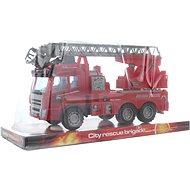 Feuerwehrauto mit Schwungrad - Auto
