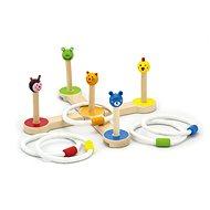Wurfringe Spiel - Holzspielzeug