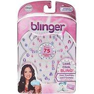 Blinger Glitzersteine - Nachfüllpackung - Formenmix - DIY für Kinder