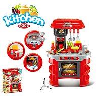 Küche mit Zubehör, mit Batterien - Kinderküche