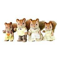 Sylvanian Families - Walnuss Eichhörnchen: Familie Knacks - Figuren