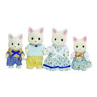 Sylvanian Families - Seidenkatzen: Familie Seidenthal - Figuren