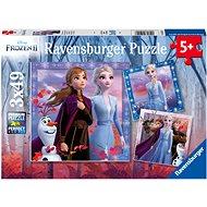 Ravensburgser 050116 Disney Frozen 2 3x49 Stück - Puzzle