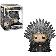 Funko POP Deluxe: Game of Thrones S10 - Cersei Lannister Sitting on Iron Throne - Figur