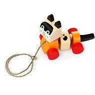 Cubika 13616 Katze zum Nachziehen - Holzspielzeug