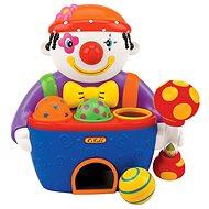 K'S Kids Pound A Balli-Jacky - Hammerspiel Clown mit Geräuschen - Klopfspielzeug