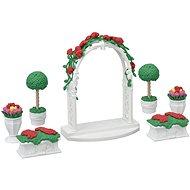Sylvaian Familie Town Series - Gartenset mit Torbogen - Spielset