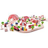 Woody Zug mit Hauptbahnhof - Modelleisenbahn